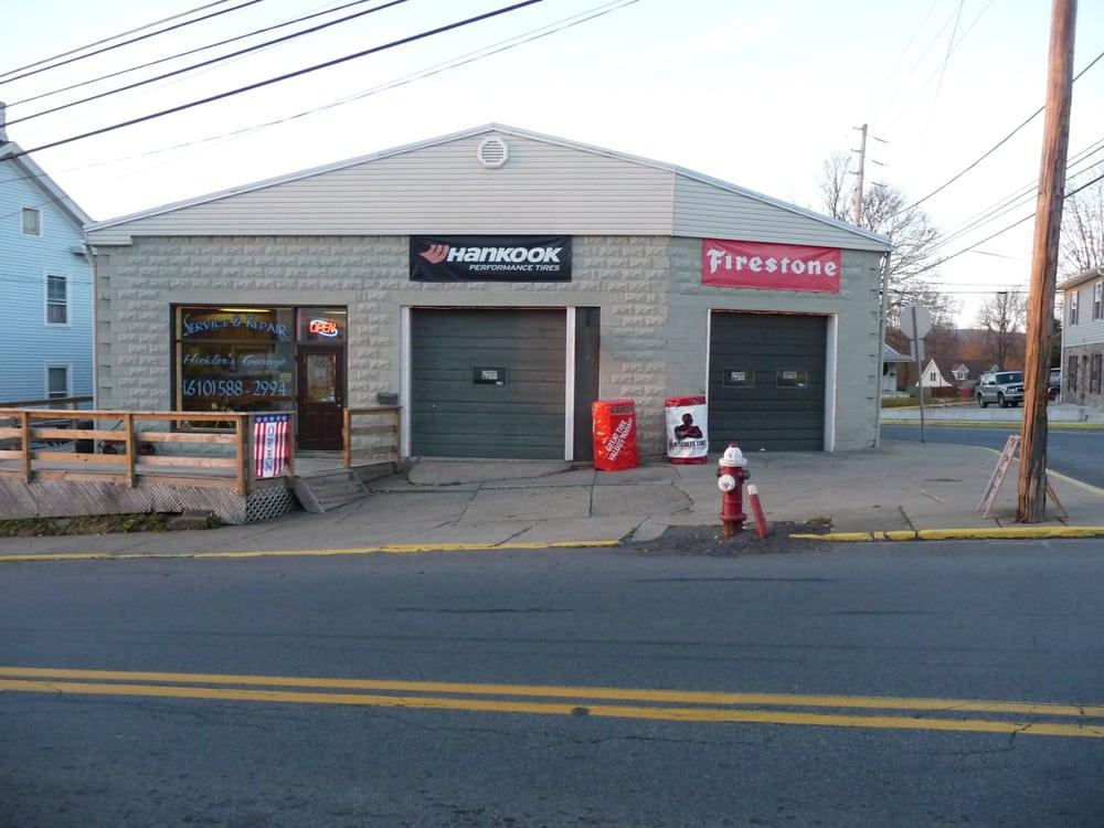 Hickler's Garage: 6 W Central Ave, East Bangor, PA