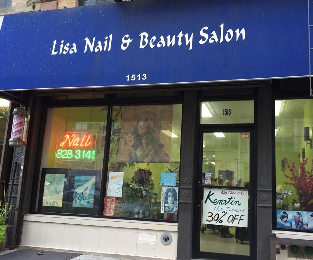 Lisa nail beauty salon manicure pedicure 1513 for Le salon east nyc