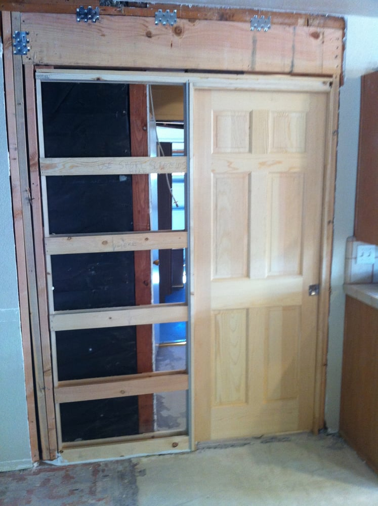 Installing A New Pocket Door And Header Yelp