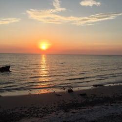 Photo Of Wood Neck Beach Falmouth Ma United States Sunset At