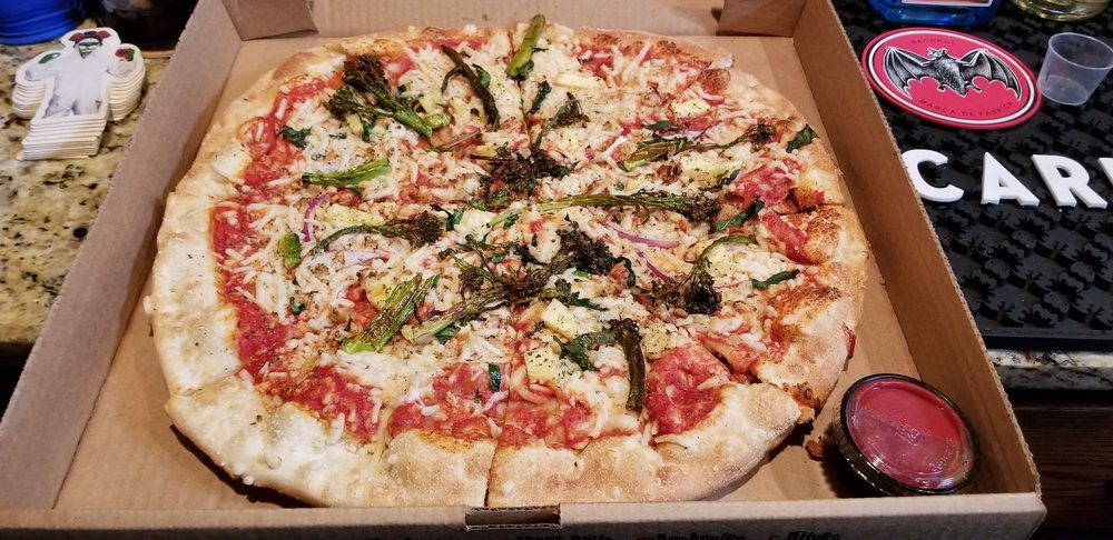 Olive and Ash Pizza