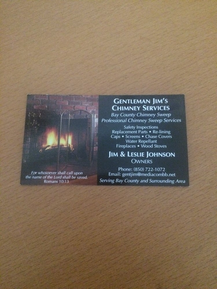Gentleman Jim's Chimney Services: 10126 Hwy 2301, Youngstown, FL