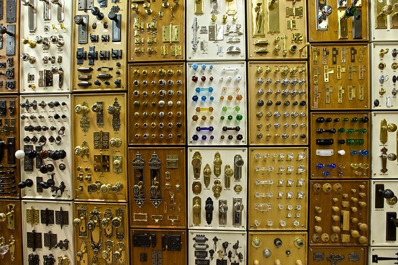 A Seemingly Unlimited Selection Of Cabinet And Door