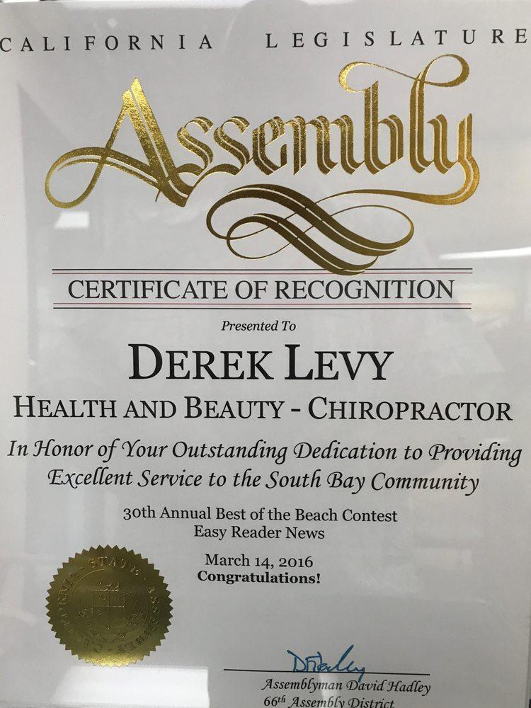 Derek Levy, DC