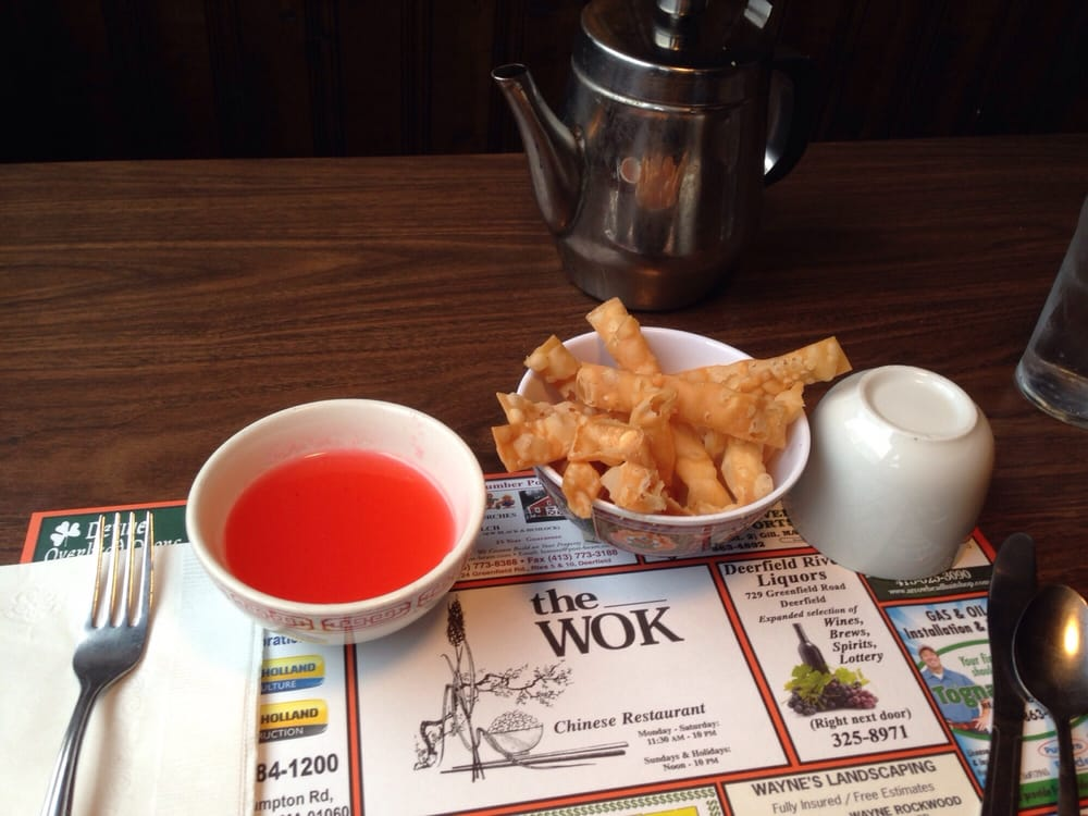 The Wok: 723 Greenfield Rd, Deerfield, MA