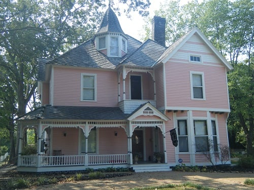 This Victorian House Almost Looks Like A Life Sized Doll House In