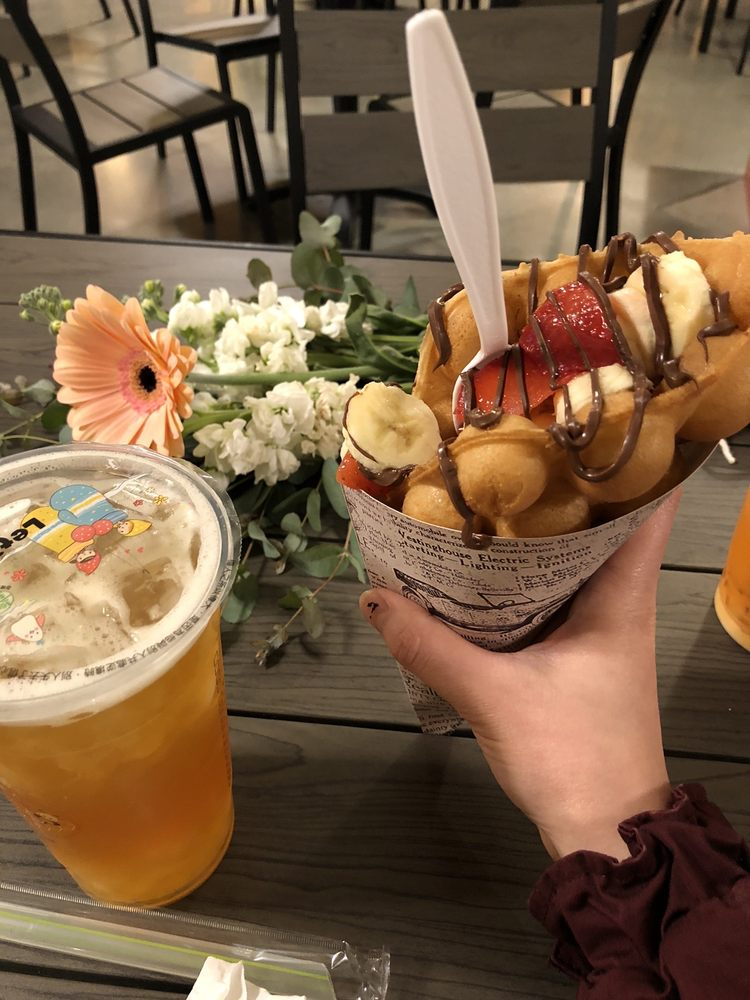 Food from BubbleBee Cafe