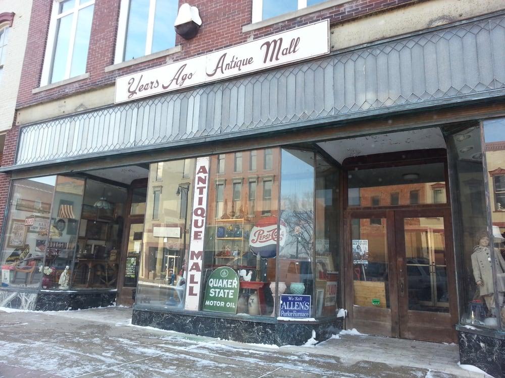 Years Ago Antique Mall: 108 W Main St, Van Wert, OH