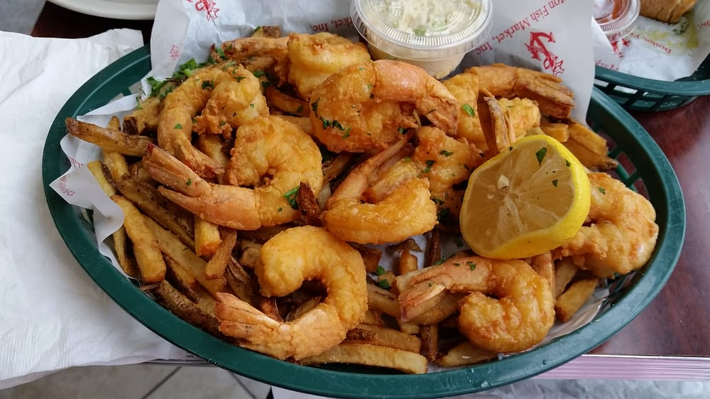 1lb 10 huge fried shrimp one of the best fried shrimp i for Best fried fish near me