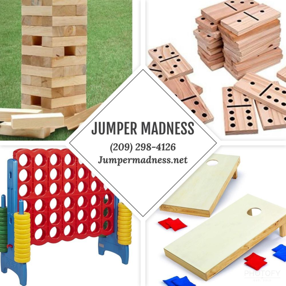 Jumper Madness and Event Rentals: 2043 Pacific Ave, Stockton, CA