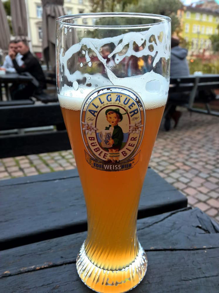 Allg uer b ble edelweissbier mal was anderes in of yelp for Elektriker offenbach