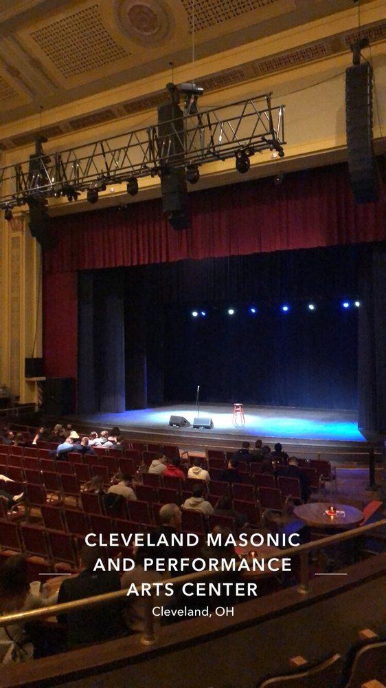 Performance Arts Center At Cleveland Masonic Auditorium