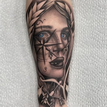 Aphrodite Tattoo By Jordan Matchin Yelp
