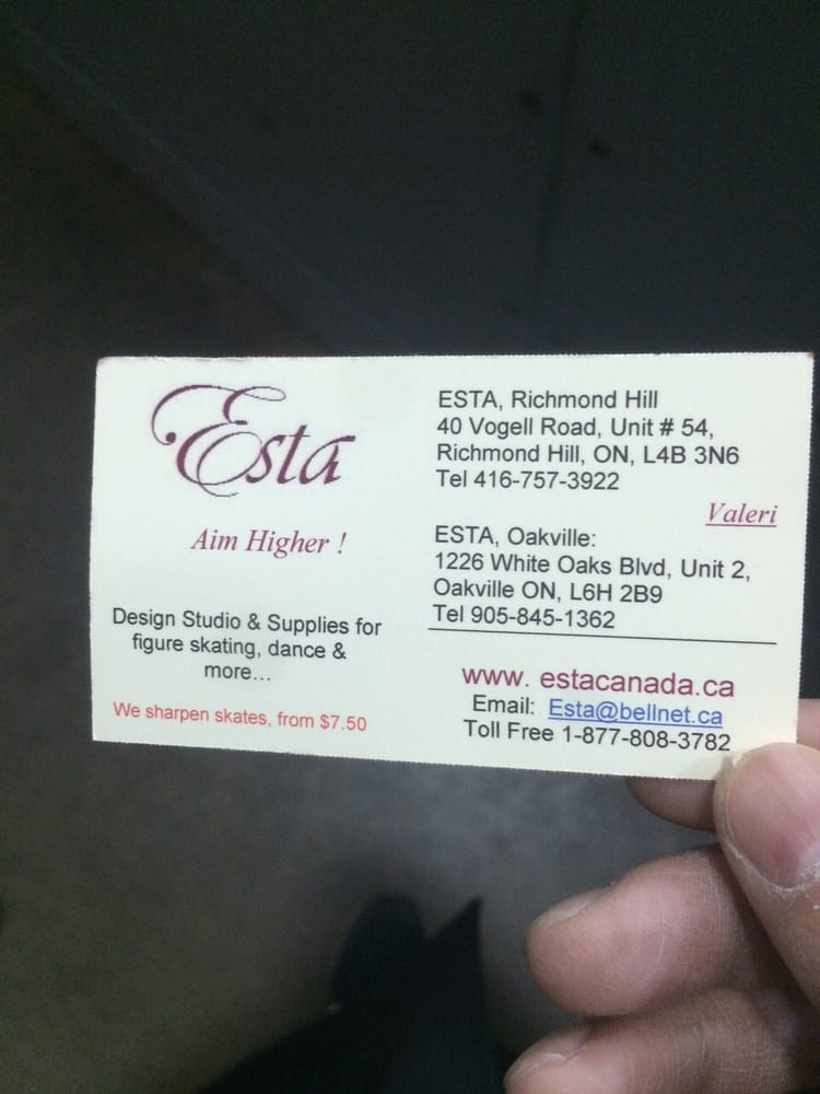 ESTA - Skate Shops - 40 Vogell Road, Richmond Hill, ON - Phone ...