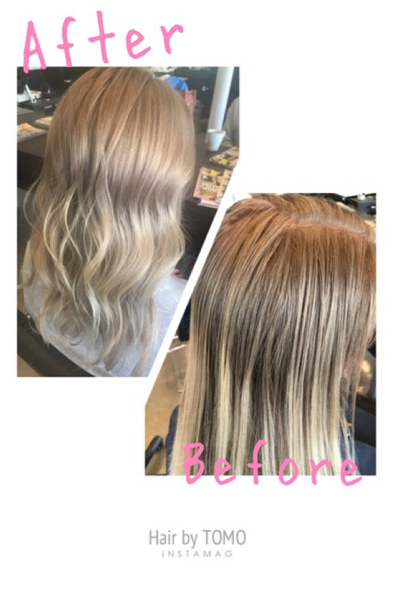 taka hair salon los angeles ca tomo did beautiful blond highlight yelp 25843