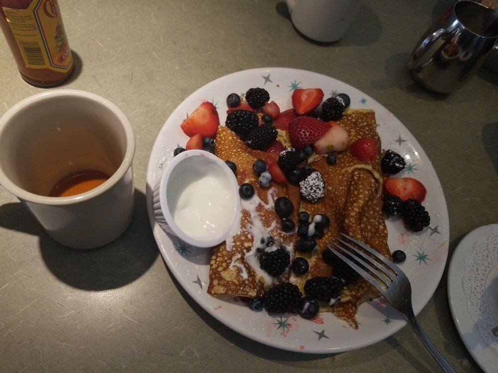 Food from Rhapsody Cafe