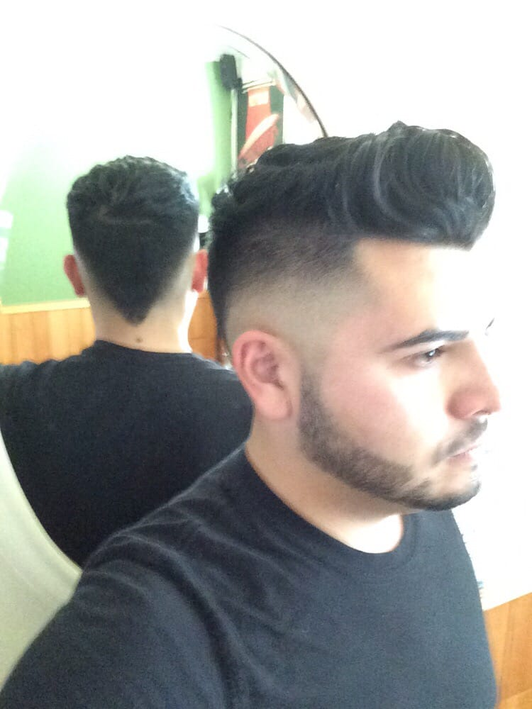 Photo Of Jose S Barber Bwood Ca United States Blade Cut Fade