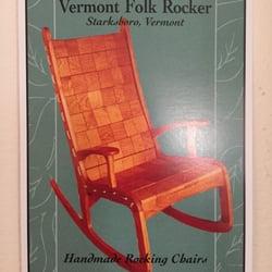 Incroyable Photo Of Vermont Folk Rocker   Starksboro, VT, United States. Handmade Rocking  Chairs