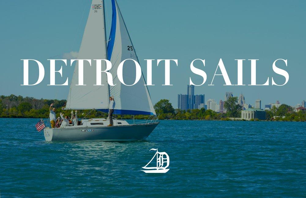 Detroit Sails: 100 St Clair St, Detroit, MI