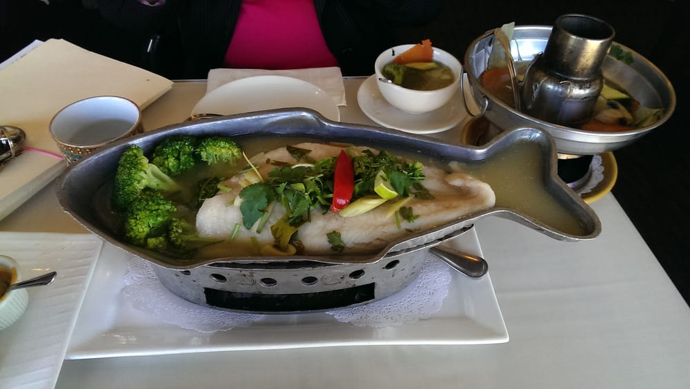 Yummy steamed fish yelp for Amarin thai cuisine menu