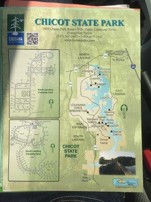 Chicot State Park [100 - 5599] Chicot Park Rd Ville Platte, LA Parks on