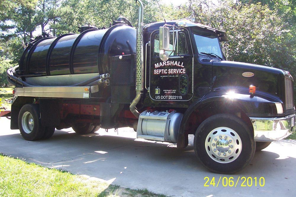 Marshall Septic Service Tank Pumping: Albertville, AL