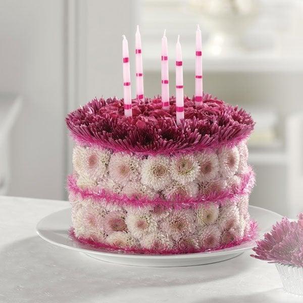 Happy Birthday Floral Cake Yelp