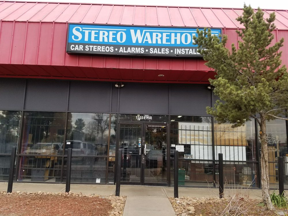 Stereo Warehouse: 15551 E 6th Ave, Aurora, CO