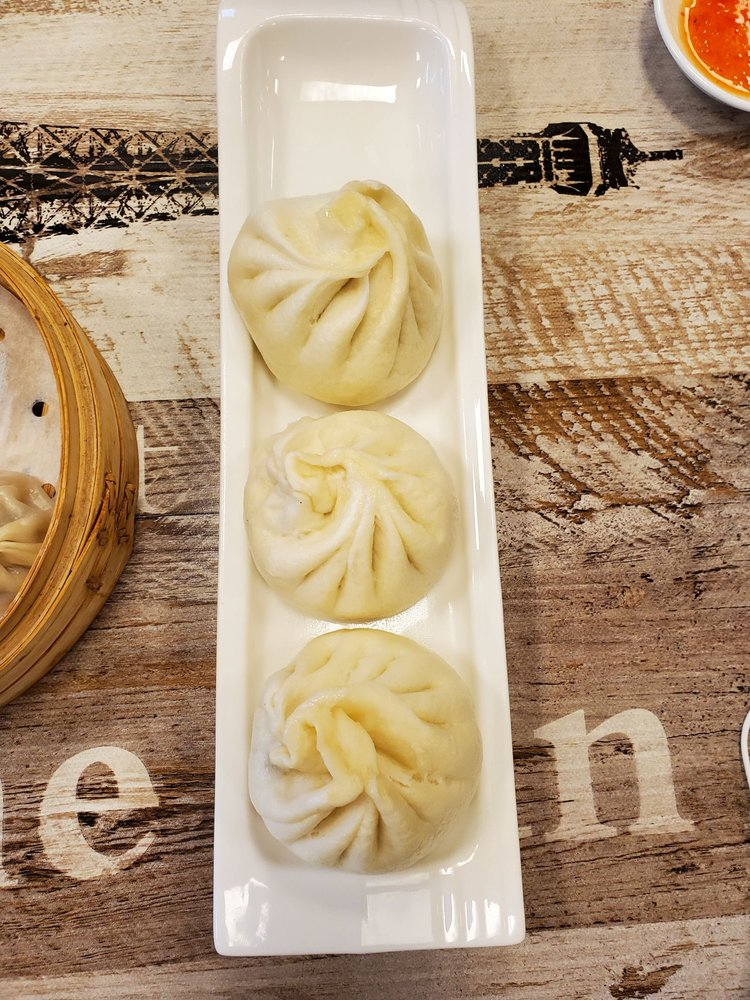 Food from OG Dumpling House