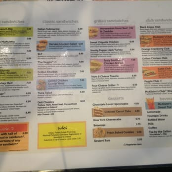 graphic about Mcalisters Deli Printable Menu called McAlisters Deli - Obtain Foods On line - 86 Illustrations or photos 51