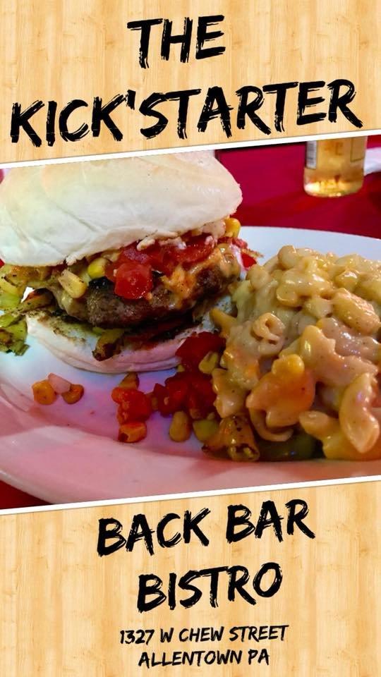 Back Bar Bistro: 1327 W Chew St, Allentown, PA