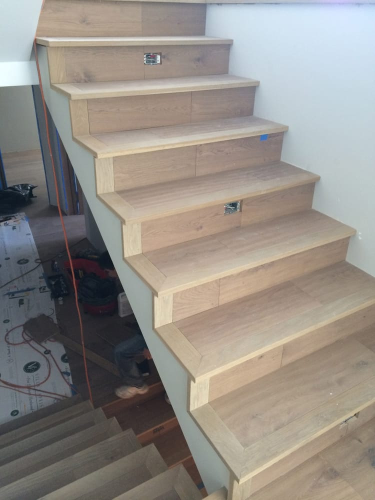 Interior Technique Makes Square Stair Nosing Install Done By Another Company Yelp