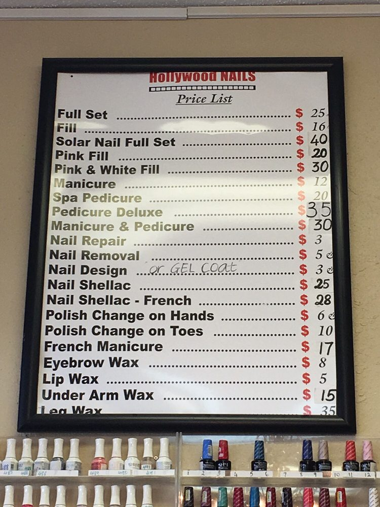 Hollywood Nails - 14 Reviews - Nail Salons - 3025 E Sunshine St ...
