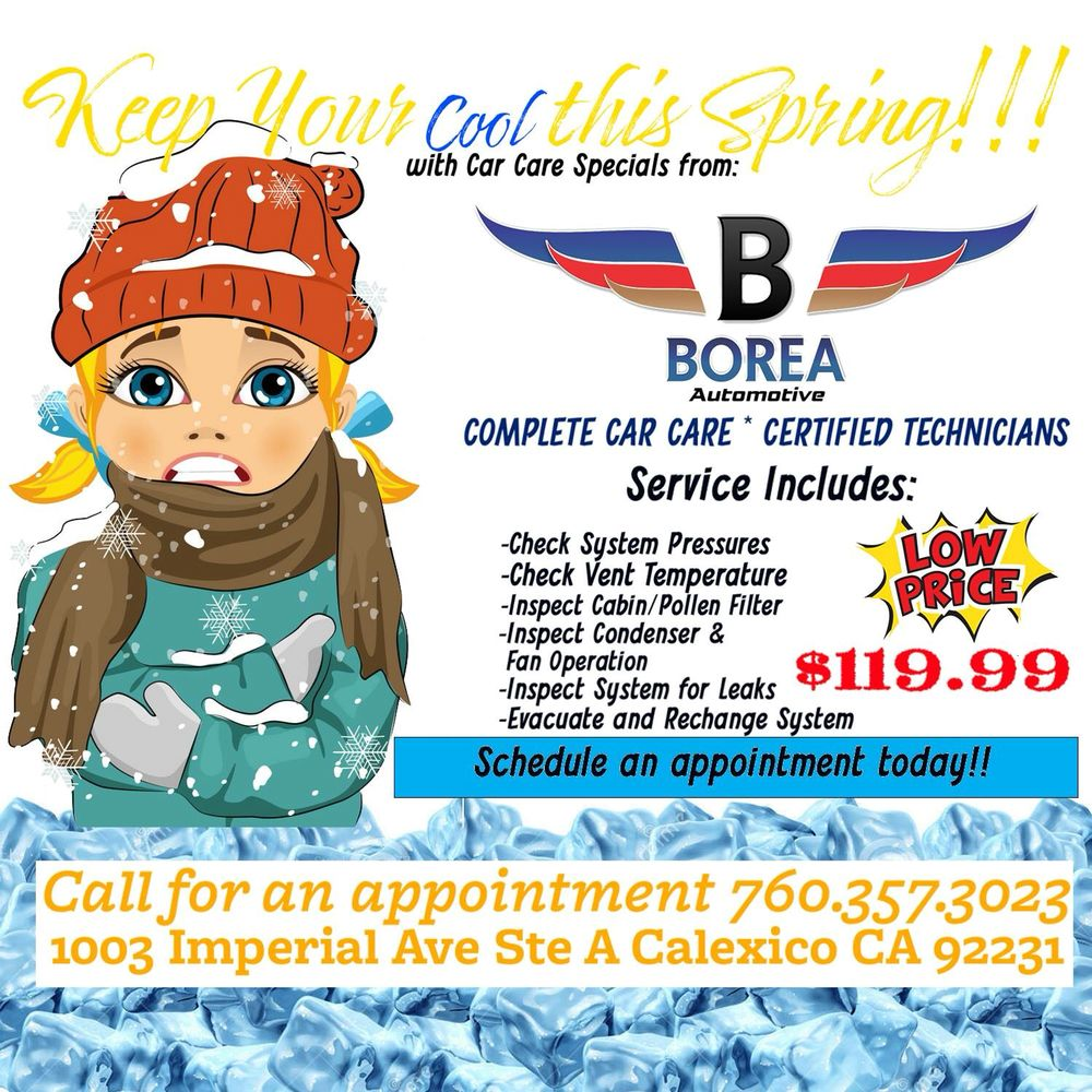 Boreas Automotive: 1003 Imperial Ave, Calexico, CA