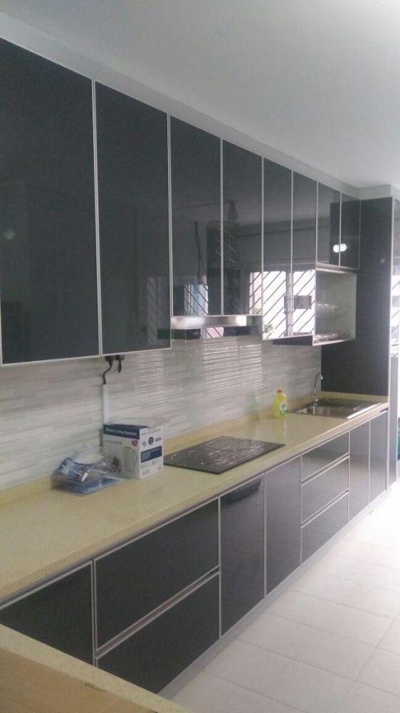 Photo Of Mirror Made For U Singapore Aluminium Kitchen Cabinets