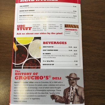 Groucho Club Food Review