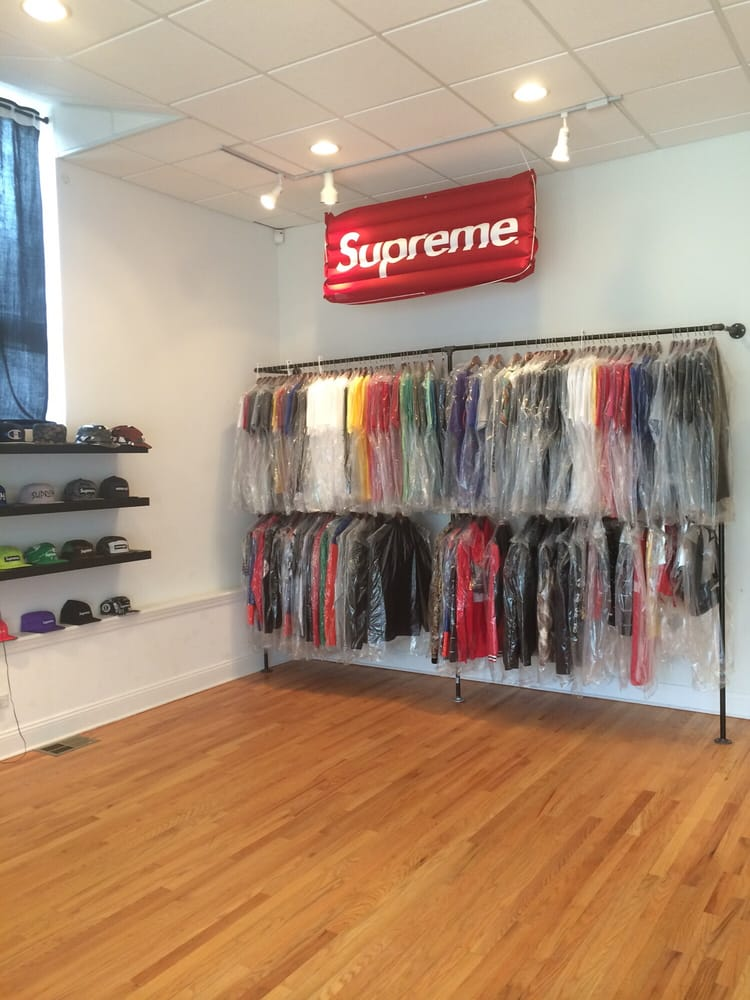 Supreme clothing store