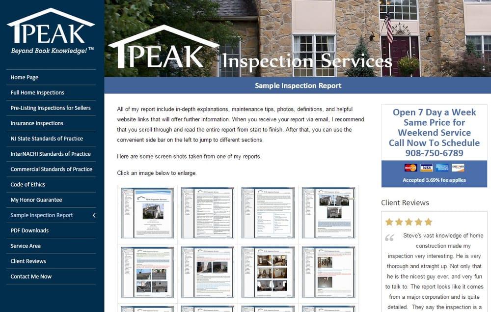 Peak Inspection Services: 614 Brass Castle Rd, Belvidere, NJ