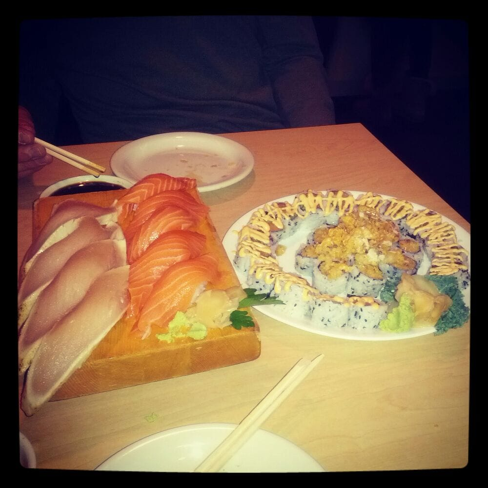 Happy hour sushi yelp for Asaka japanese cuisine