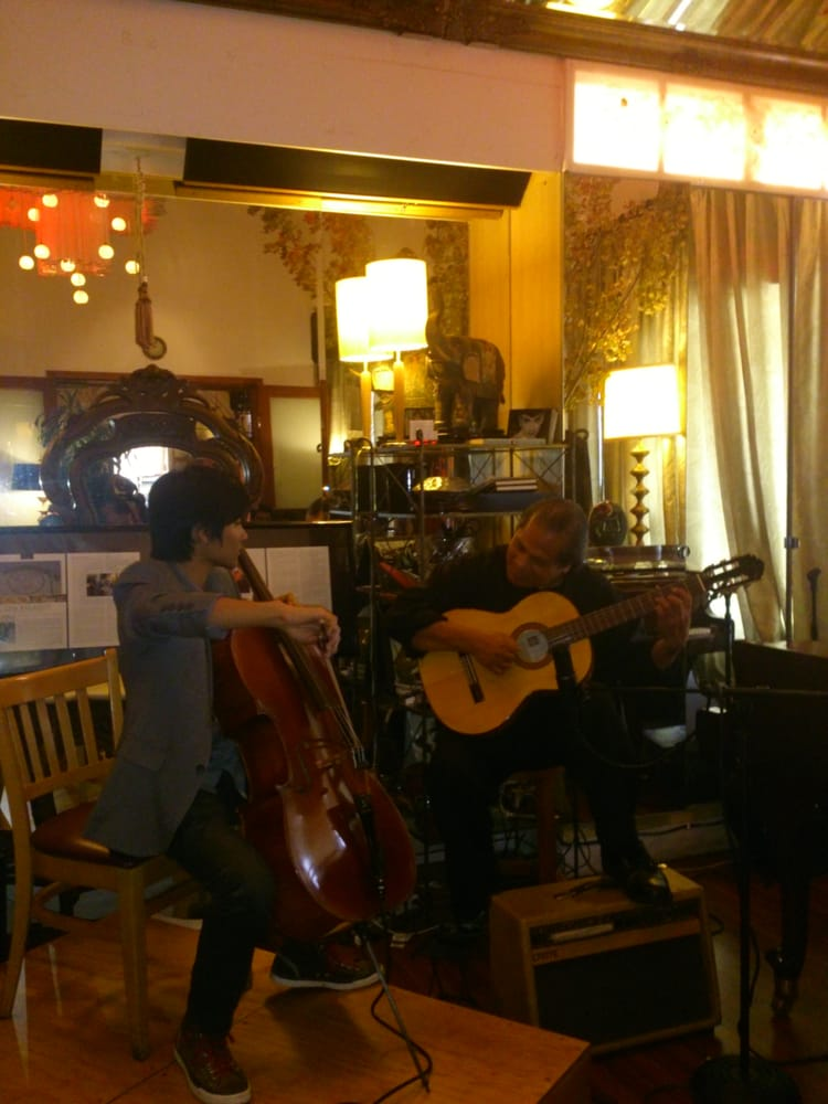 Photo of LA Rose Cafe - Los Angeles, CA, United States. Sunday brunch: live music mellow & soothing