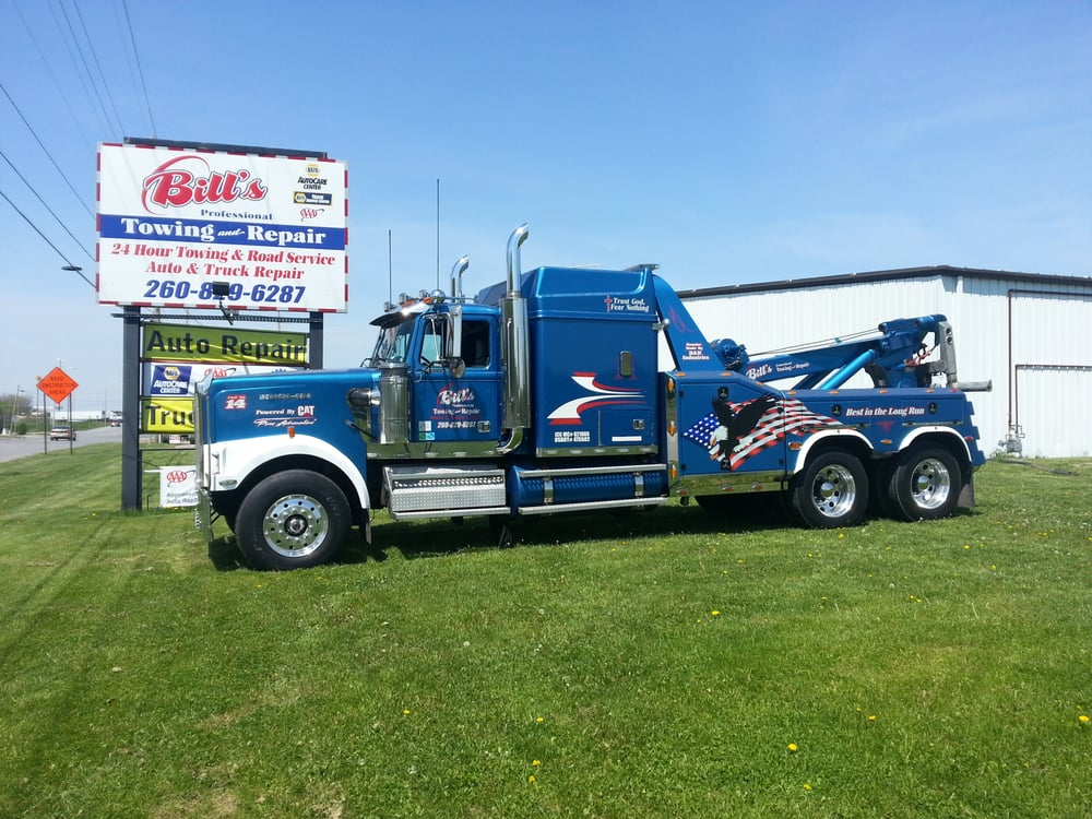 Towing business in Hamilton, IN