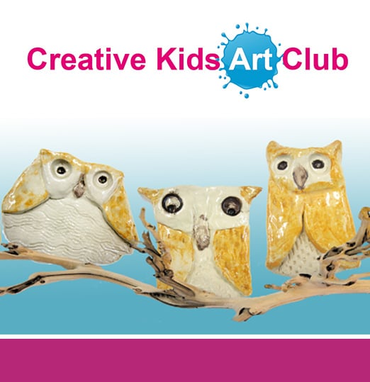 Clay owls made in Creative Kids Art Club by 5 to 10 year olds  - Yelp
