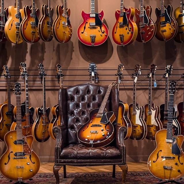 new used and vintage hollowbody guitars yelp. Black Bedroom Furniture Sets. Home Design Ideas