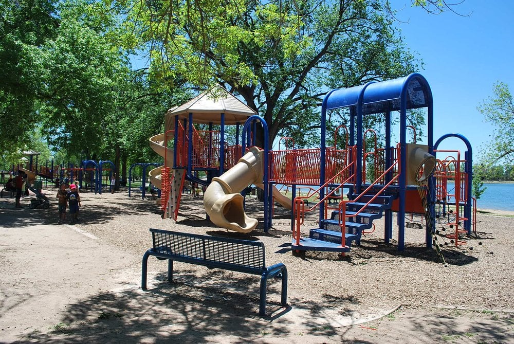 Playground on east side of prospect lake yelp - Memorial gardens colorado springs ...