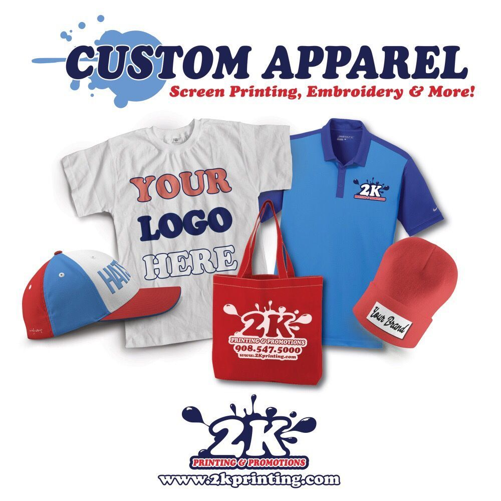 Custom Apparel Screen Printing Digital Printing Embroidery T