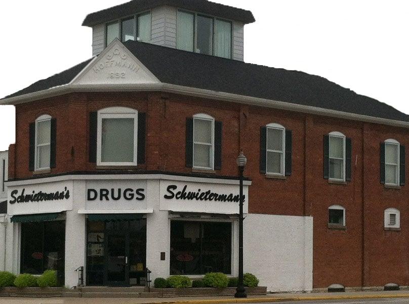 Schwieterman's Drug Store: 2 N Washington St, New Bremen, OH