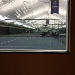 Club de tennis int rieur de l ile des soeurs tennis for Golf interieur quebec