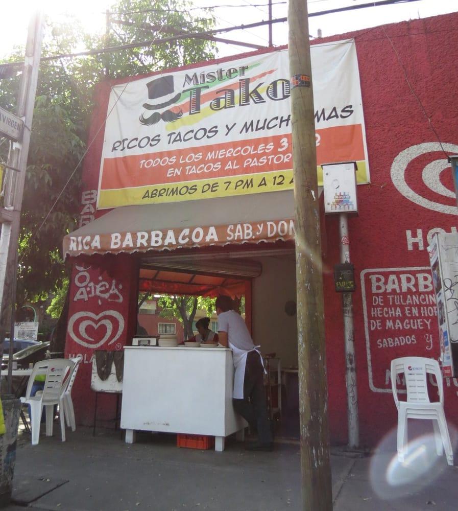 Mister tako cocina mexicana av canal de miramontes s for Canal cocina mexicana