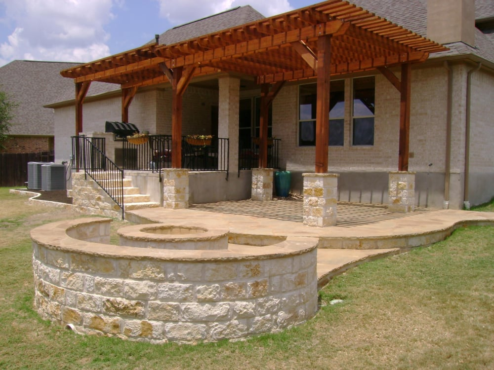 Photo Of DH Landscape Design   Austin, TX, United States. Outdoor Patio With