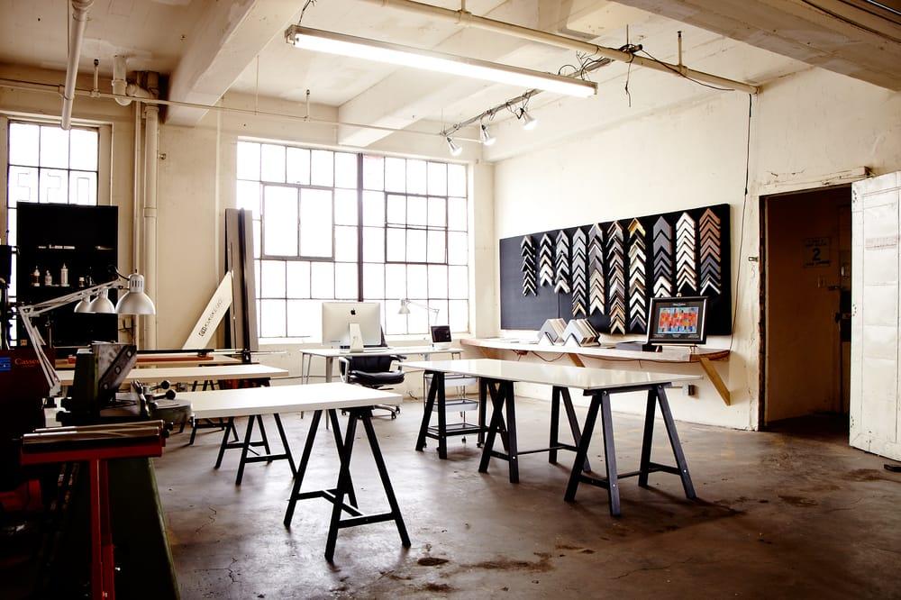 Independent Framing - Bilderrahmen - 834 Ceres Ave, Downtown, Los ...